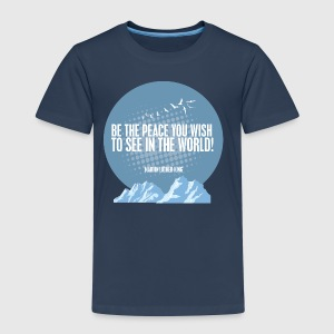PEACE - MARTIN LUTHER KING - Børne premium T-shirt
