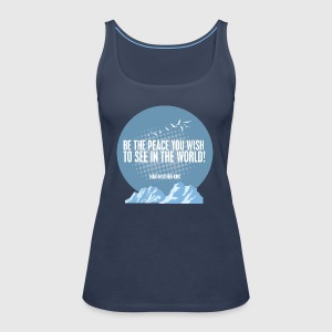PEACE - MARTIN LUTHER KING - Dame Premium tanktop