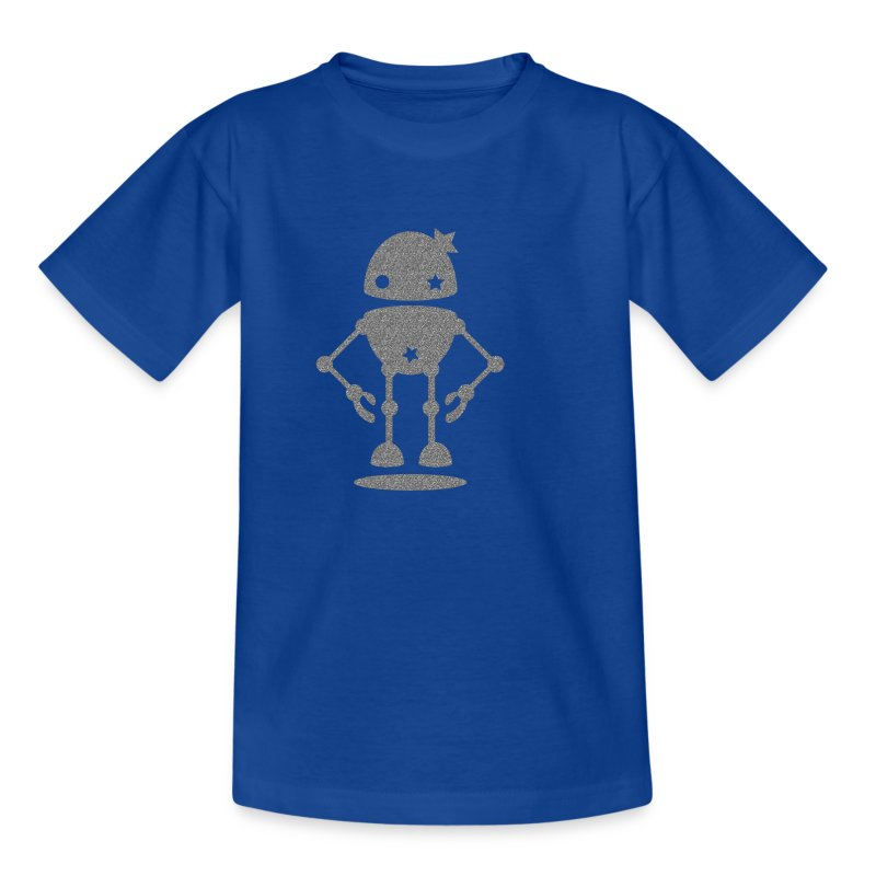 Floating Robot - Kids' T-Shirt