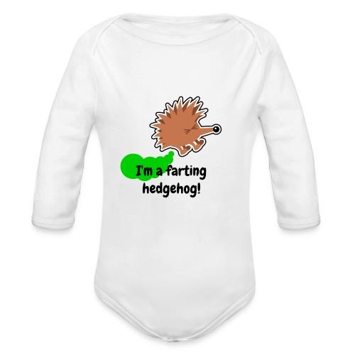 Ekologisk långärmad babybody