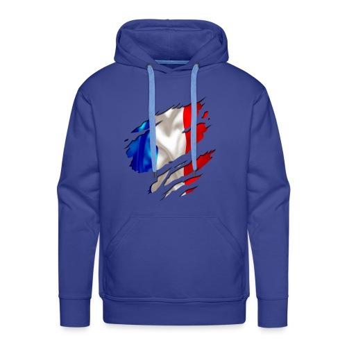 Frankreich Solidarité - Männer Premium Hoodie
