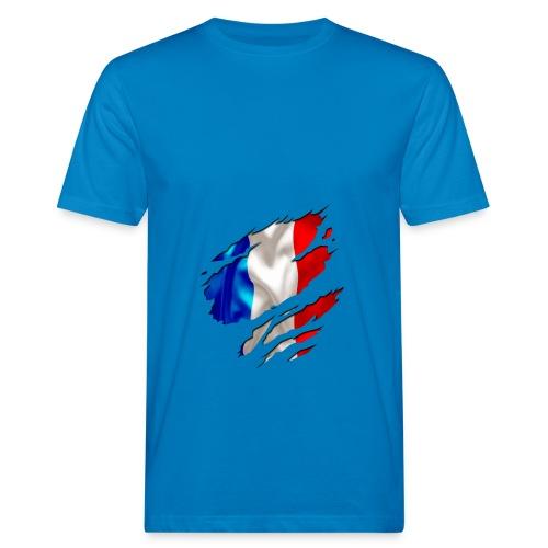 Frankreich Solidarité - Männer Bio-T-Shirt