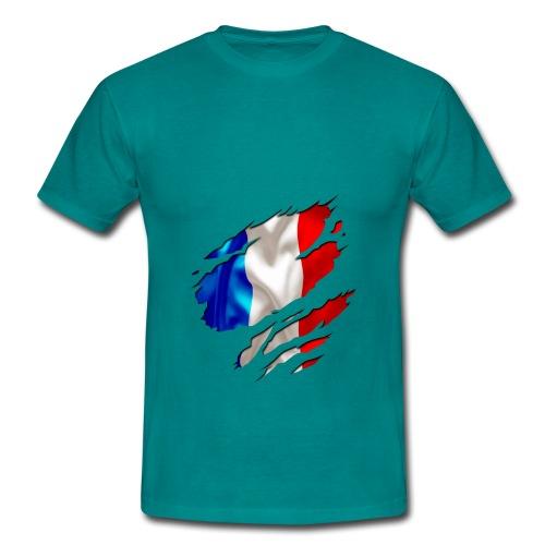 Frankreich Solidarité - Männer T-Shirt
