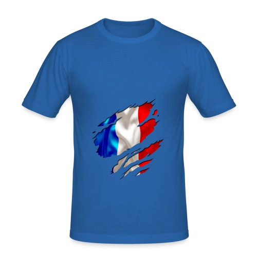 Frankreich Solidarité - Männer Slim Fit T-Shirt