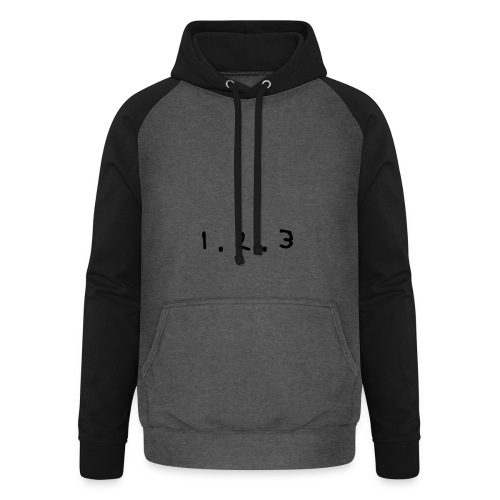 Snapback - 1.2.3 ! - Sweat-shirt baseball unisexe
