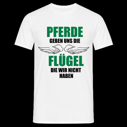 Flügel...Magenta/Lila - Männer T-Shirt
