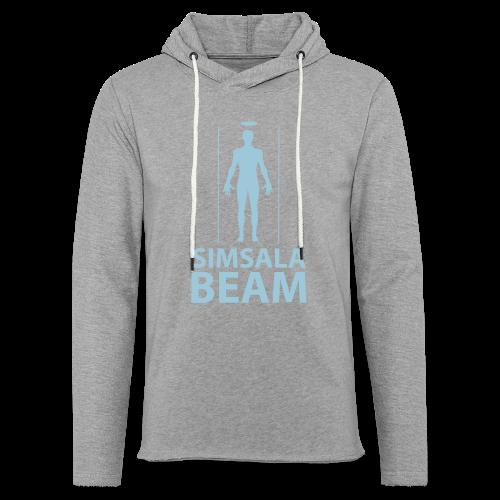 Beam..Braun - Leichtes Kapuzensweatshirt Unisex
