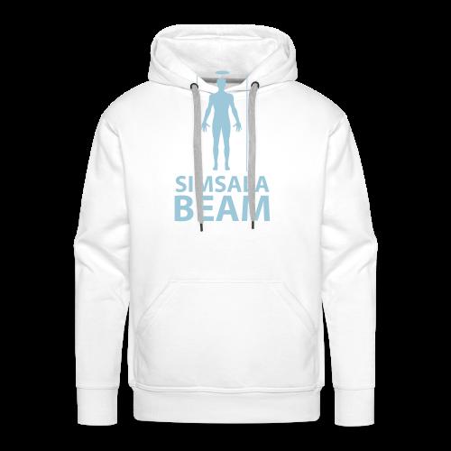 Beam..Braun - Männer Premium Hoodie