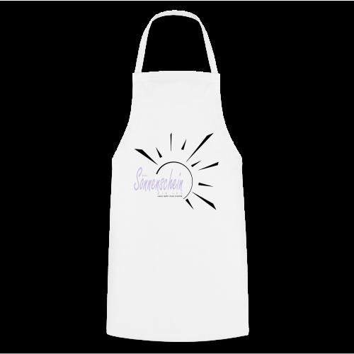 Sonnenschein...Goldgelb/Magenta - Kochschürze