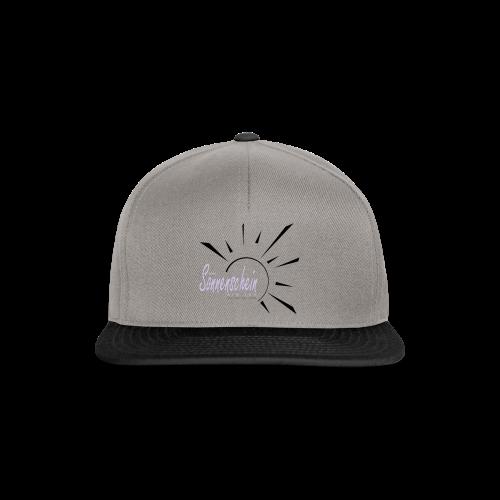 Sonnenschein...Goldgelb/Magenta - Snapback Cap