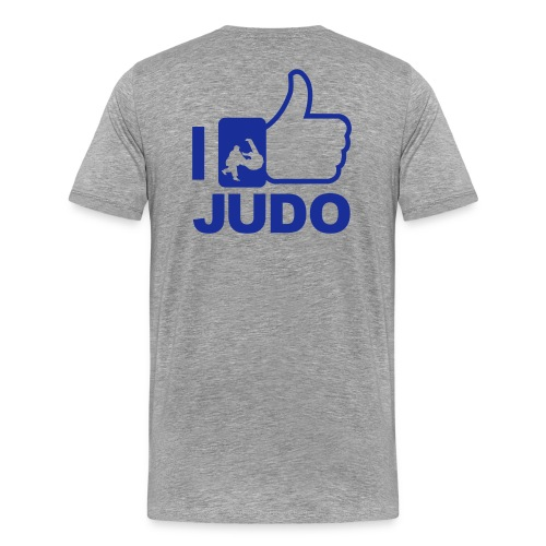 Thumbs Up For Judo - Men's Premium T-Shirt