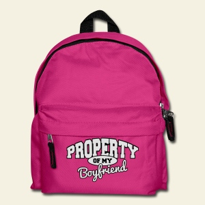 Property of my boyfriend - Sac à dos Enfant