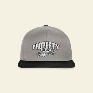Property of my boyfriend - Casquette snapback