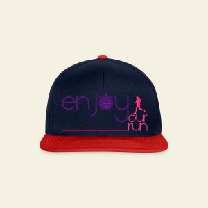 Enjoy your run Femme - Casquette snapback