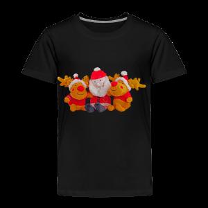 Weihnachtsmann Rentier Männer Pulli - Kinder Premium T-Shirt