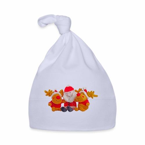 Weihnachtsmann Rentier Männer Pulli - Baby Mütze