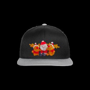 Weihnachtsmann Rentier Männer Pulli - Snapback Cap