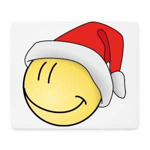 Weihnachts Smilie Kinder Langarmshirt - Mousepad (Querformat)