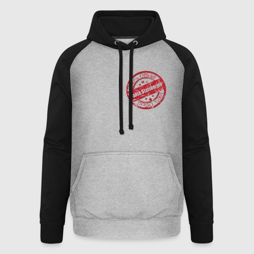 100% Officiel Dansk Statsborger - Unisex baseball hoodie