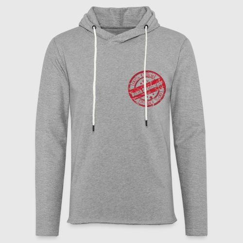 100% Officiel Dansk Statsborger - Let sweatshirt med hætte, unisex