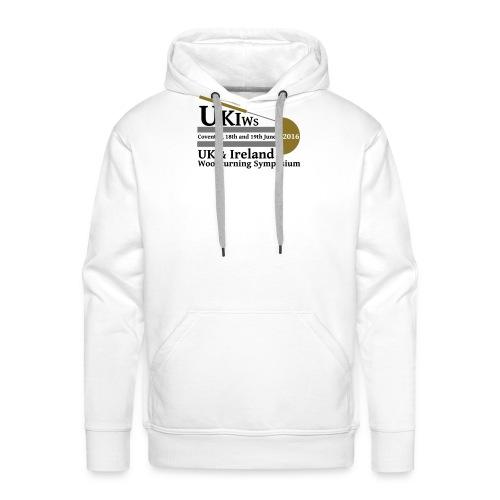 UKIWS Long Sleeve T - Large Logo - Men's Premium Hoodie