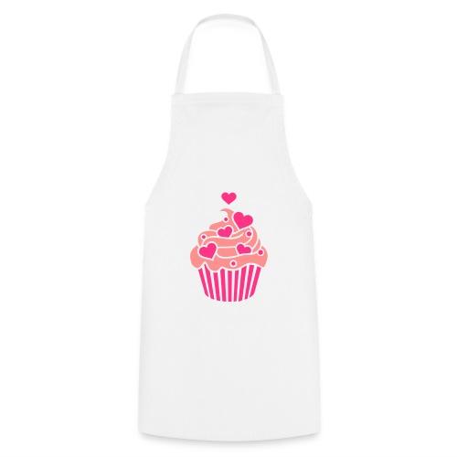 tee shirt cupcakes  - Tablier de cuisine