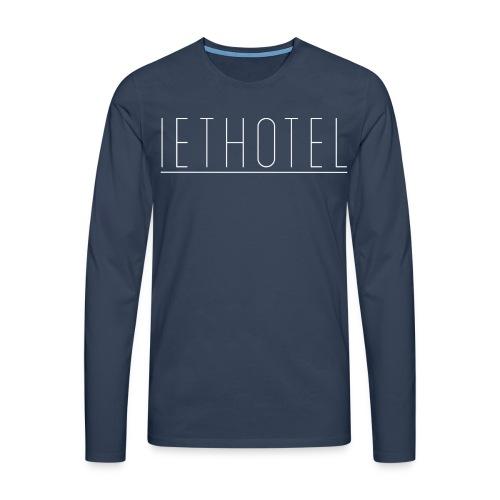 IET Sweater - Mannen Premium shirt met lange mouwen