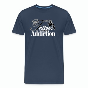 Tattoo Addiction Men's Premium Tank Top - Men's Premium T-Shirt