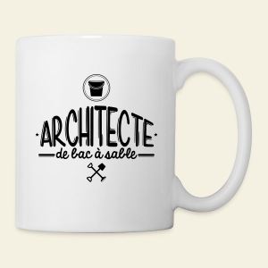 Architecte de bac à sable - Tasse