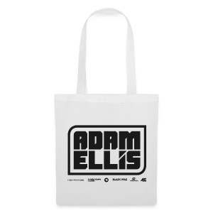 Adam Ellis Cap - White  - Tote Bag