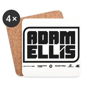 Adam Ellis Cap - White  - Coasters (set of 4)