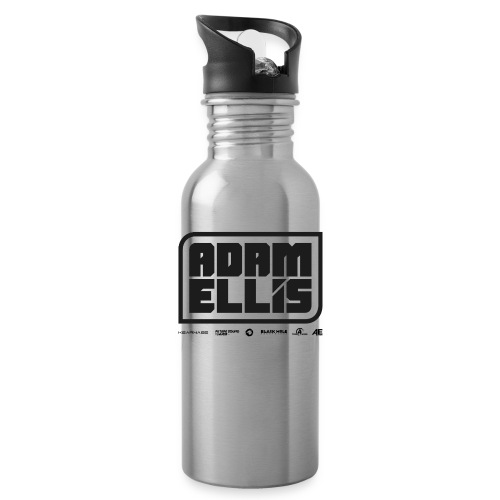 Adam Ellis - Unisex Hoodie - Grey - Water Bottle