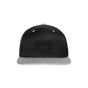 Adam Ellis - Unisex Hoodie - Grey - Contrast Snapback Cap