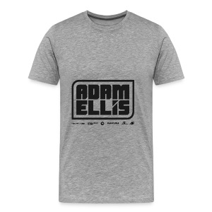 Adam Ellis - Unisex Hoodie - Grey - Men's Premium T-Shirt