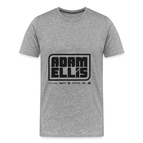 Adam Ellis - Unisex Hoodie - Grey - Men's Premium T-Shirt