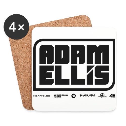 Adam Ellis - Unisex Hoodie - Grey - Coasters (set of 4)