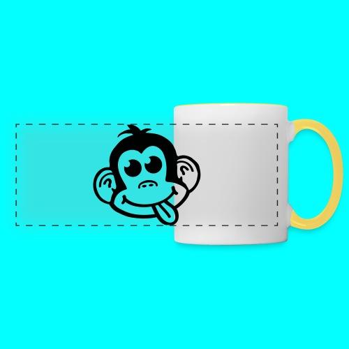 Cheeky Monkey Logo Pillow - Panoramic Mug