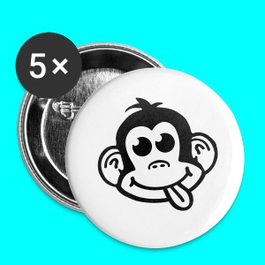 Cheeky Monkey Logo Pillow - Buttons small 25 mm