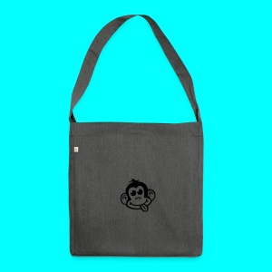 Cheeky Monkey Logo Pillow - Shoulder Bag made from recycled material