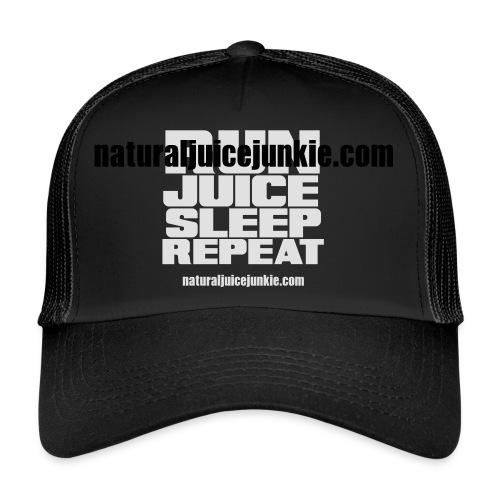 Mens Run Juice Sleep Repeat - Trucker Cap