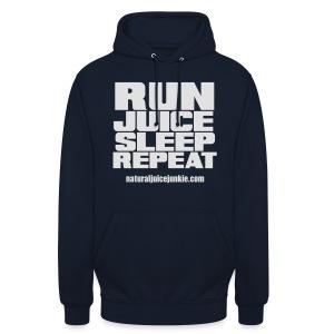 Mens Run Juice Sleep Repeat - Unisex Hoodie