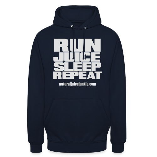 Mens Run Juice Sleep Repeat - Unisex Hoodie