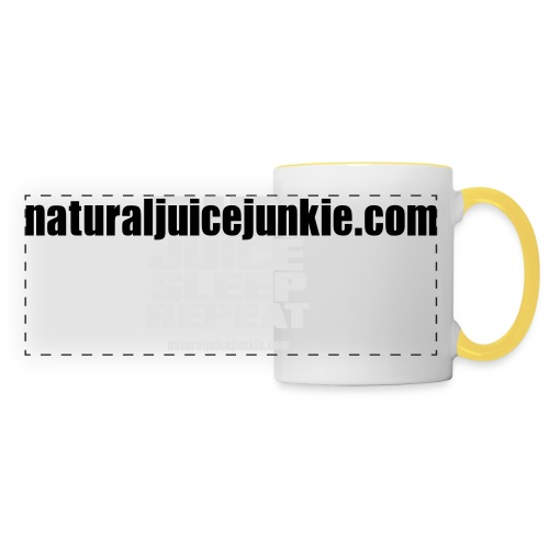 Mens Run Juice Sleep Repeat - Panoramic Mug