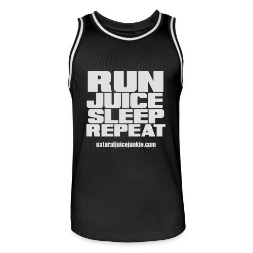 Mens Run Juice Sleep Repeat - Men's Basketball Jersey