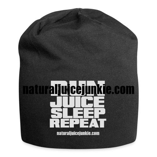 Mens Run Juice Sleep Repeat - Jersey Beanie
