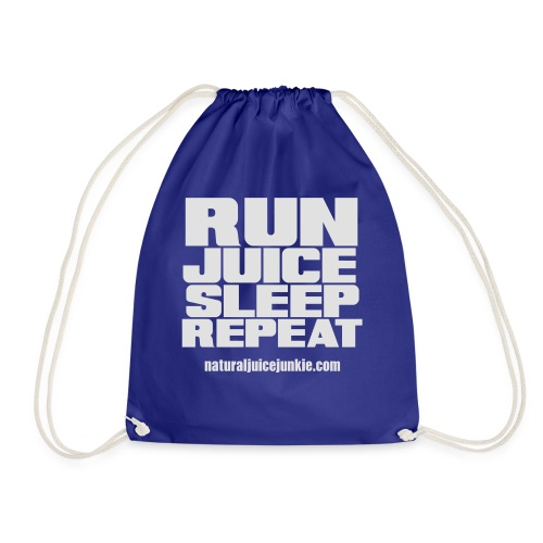 Mens Run Juice Sleep Repeat - Drawstring Bag