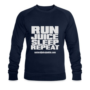 Mens Run Juice Sleep Repeat - Men's Organic Sweatshirt by Stanley & Stella