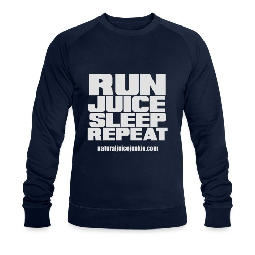 Mens Run Juice Sleep Repeat - Men's Organic Sweatshirt by Stanley & Stella