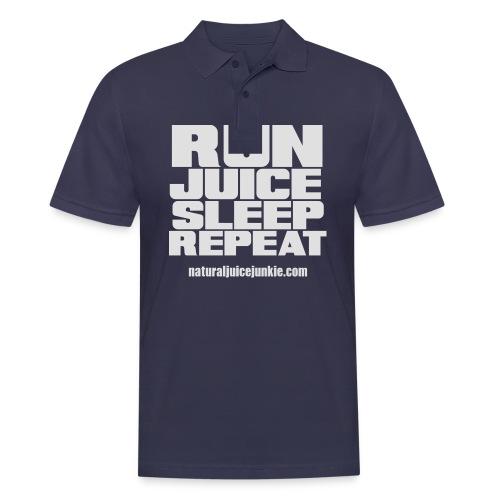 Mens Run Juice Sleep Repeat - Men's Polo Shirt