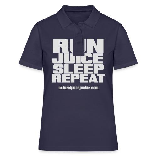 Mens Run Juice Sleep Repeat - Women's Polo Shirt
